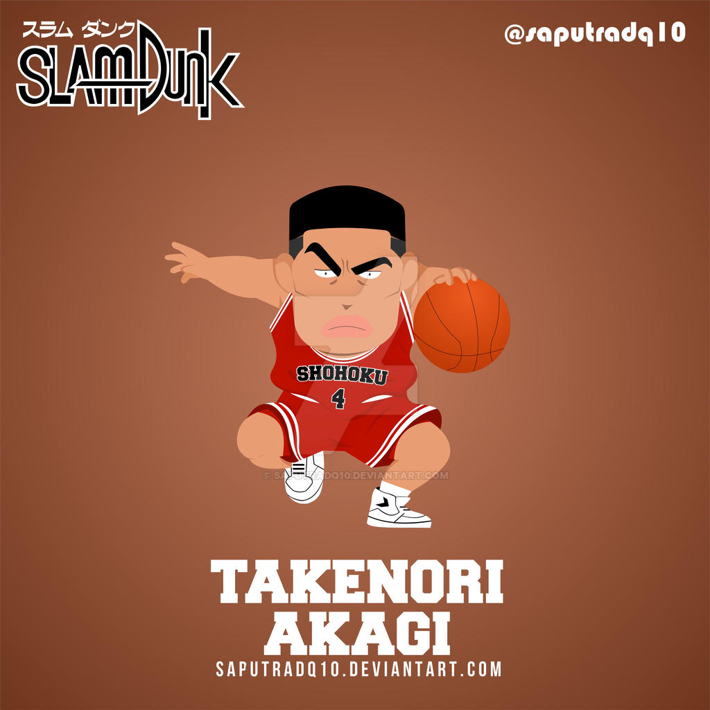 Takenori Akagi By Saputradq10 On DeviantArt