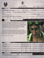 Arkham Archives: The Riddler by DARTHREVAN555