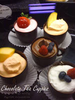 Chocolate Tea-Cuppies by kayj7383