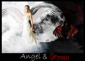 Angel and Demon by kayj7383
