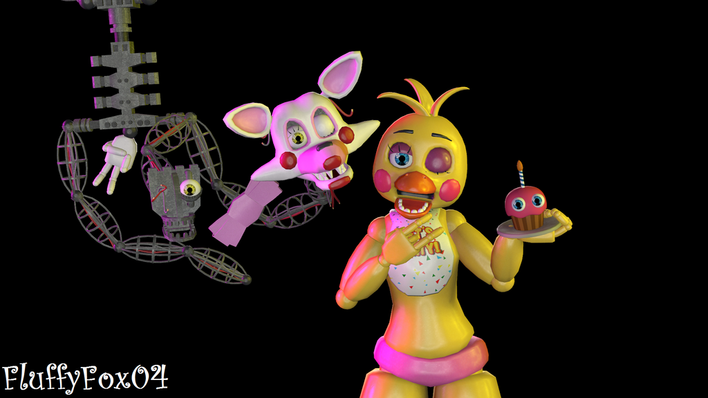 Toy Chica Coloring Pages