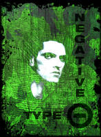 Peter Steele - Type O Negative T-Shirt design.