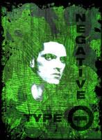 Peter Steele - Type O Negative T-Shirt design.