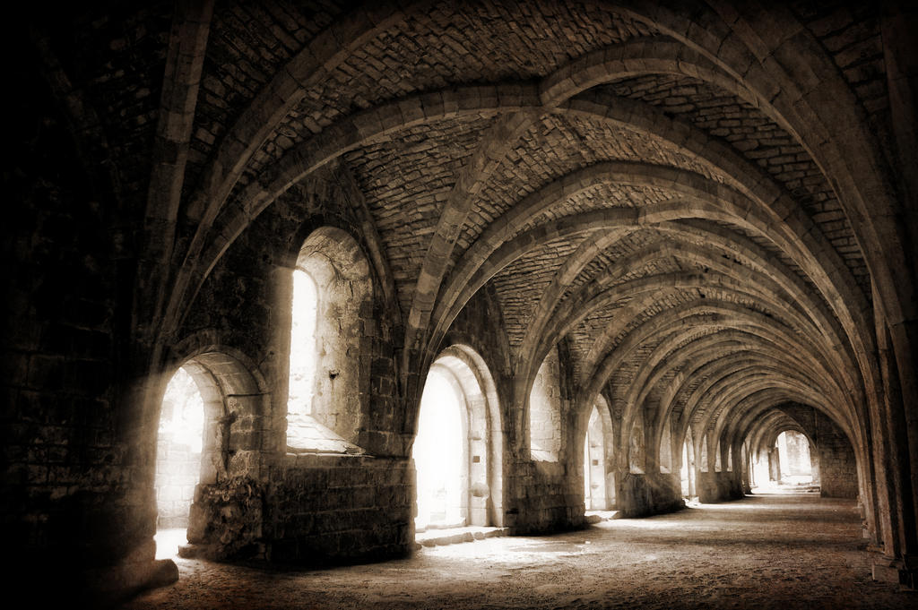 Ancient Ruined Monastery Vault by tjblackwell on DeviantArt