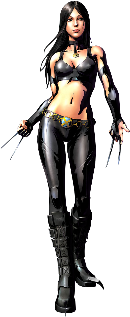 MvC3 X-23 Render by triggerhappy039 on DeviantArt X 23 Marvel