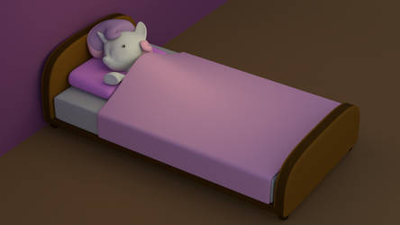 Sweetie Belle Sleeping