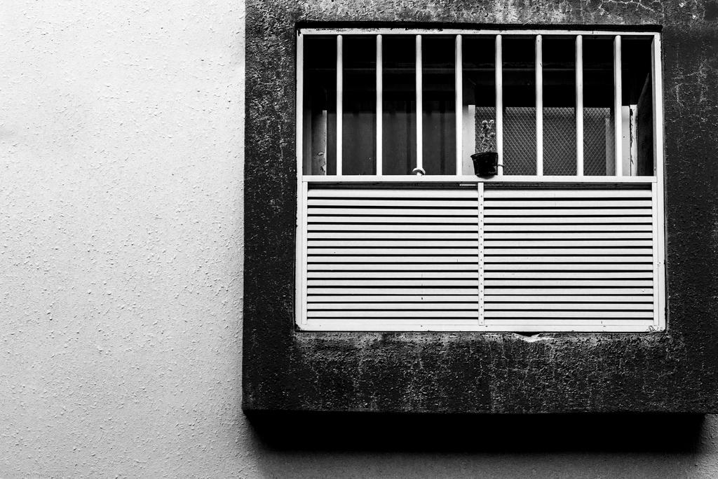 Modern Window in old neighborhood by bad95killer