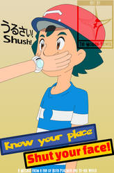 Propa-Fandom - Know your Place Shut your Face by The-Mobian-Viewer