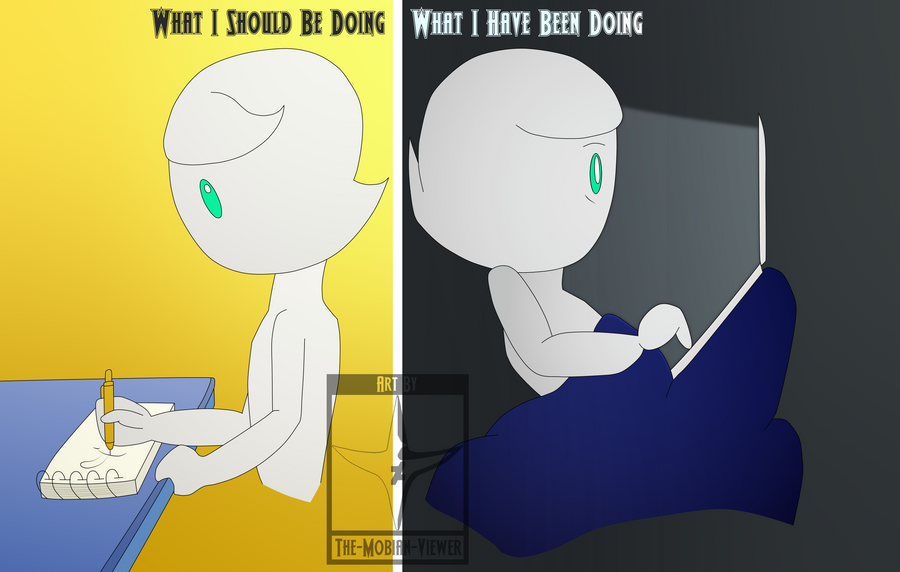 Simple Me Comics - My Mind and Its Priorities by The-Mobian-Viewer