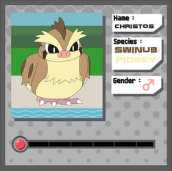 Pokemon Application - Christos by The-Mobian-Viewer