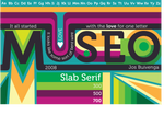 Museo Typography Poster