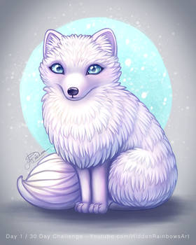 Arctic Fox - Day 1 of 30 day challenge