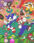 Mario and Sonic Shuffle Party