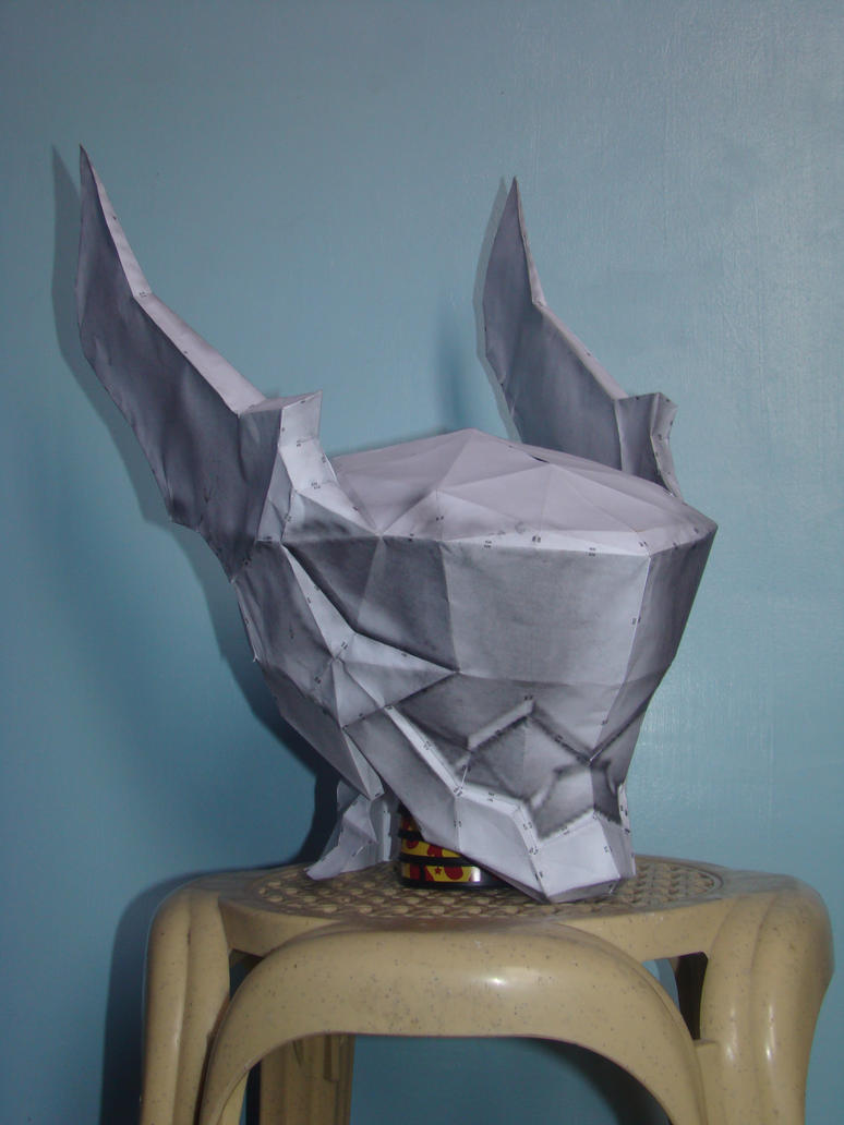 Ventus's Helmet - Papercraft by WingBlade48