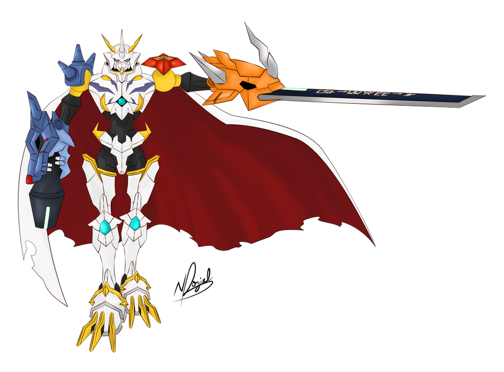 The Royal Knight - Omnimon X by ReverseCrown on DeviantArt