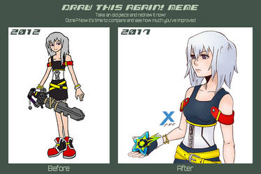 Draw This Again! Meme ~Argent~ by ReverseCrown