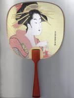 Geisha Fan by japanstocks