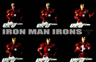 Iron Man Irons by LarryMHolder