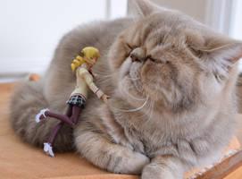 Mami loves kitty