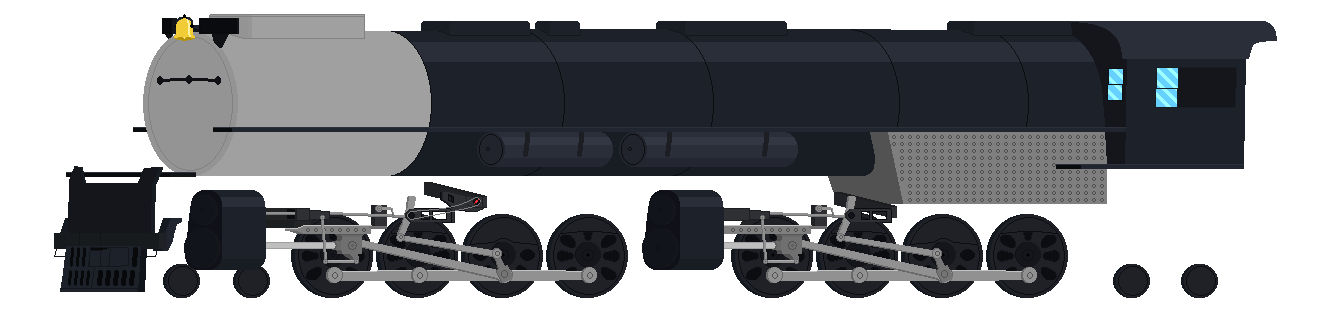 Project:Big Boy 4014 MLP Style (42% to completion)