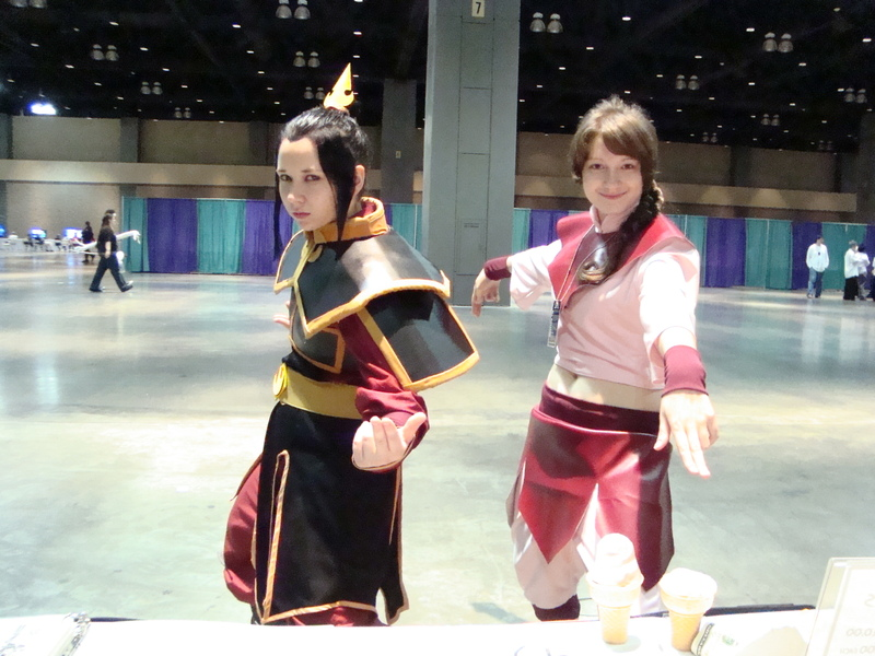 ConnectiCon Azula and Ty Lee by JerseyX