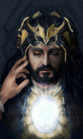 Thorin's funeral- Thilbo version by DepplyLoveU