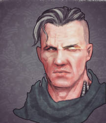 Josh Brolin as Cable (Nathan Summers)