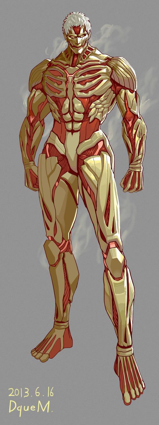 +Armored titan - remake by DqueM-7 on DeviantArt
