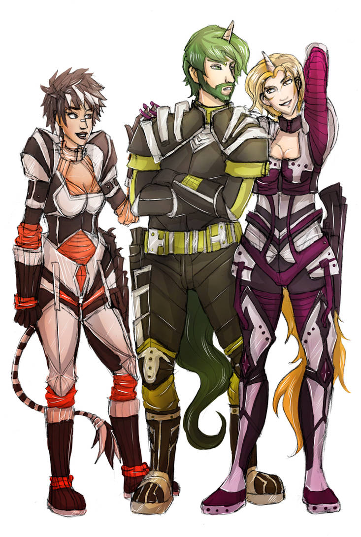Wintertrot Trio, Rangers of Wintertrot by coloradium