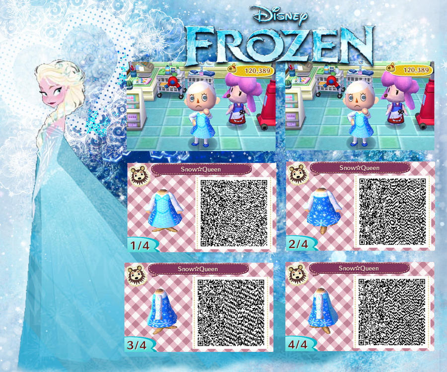 Conosciuto Animal Crossing: New Leaf QR code ( Frozen ) by Rasberry-Jam  KL68