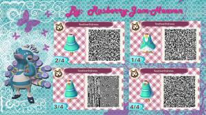 Festival Dress: Animal Crossing qr design by Rasberry-Jam-Heaven