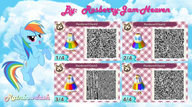 Animal Crossing Qr Code Rainbowdash By Rasberry Jam Heaven D79bajz Jpg 800 215 447 Animal
