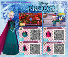 Frozen Elsa's Coronation dress2 (now with cape!) by Rasberry-Jam-Heaven