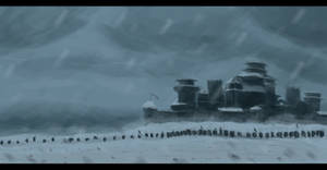 Siege of the Winterfell Concept Art