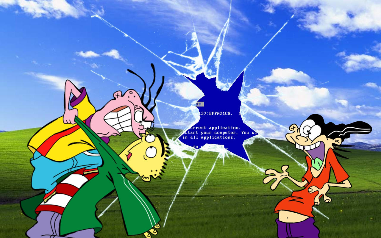 Ed Edd N Eddy Windows Xp Wallpaper 1 By Savagebolt95 On Deviantart
