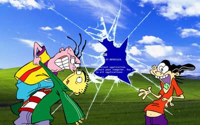 Ed, Edd n Eddy Windows XP Wallpaper 1