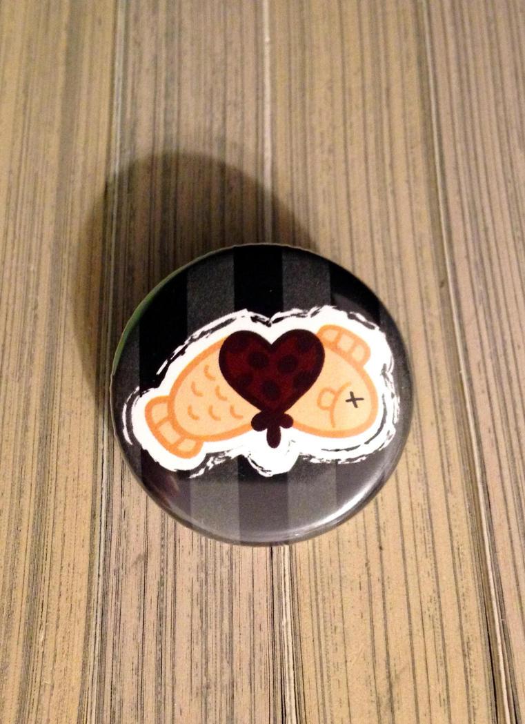 Taiyaki Button by ShinigamiSoiree
