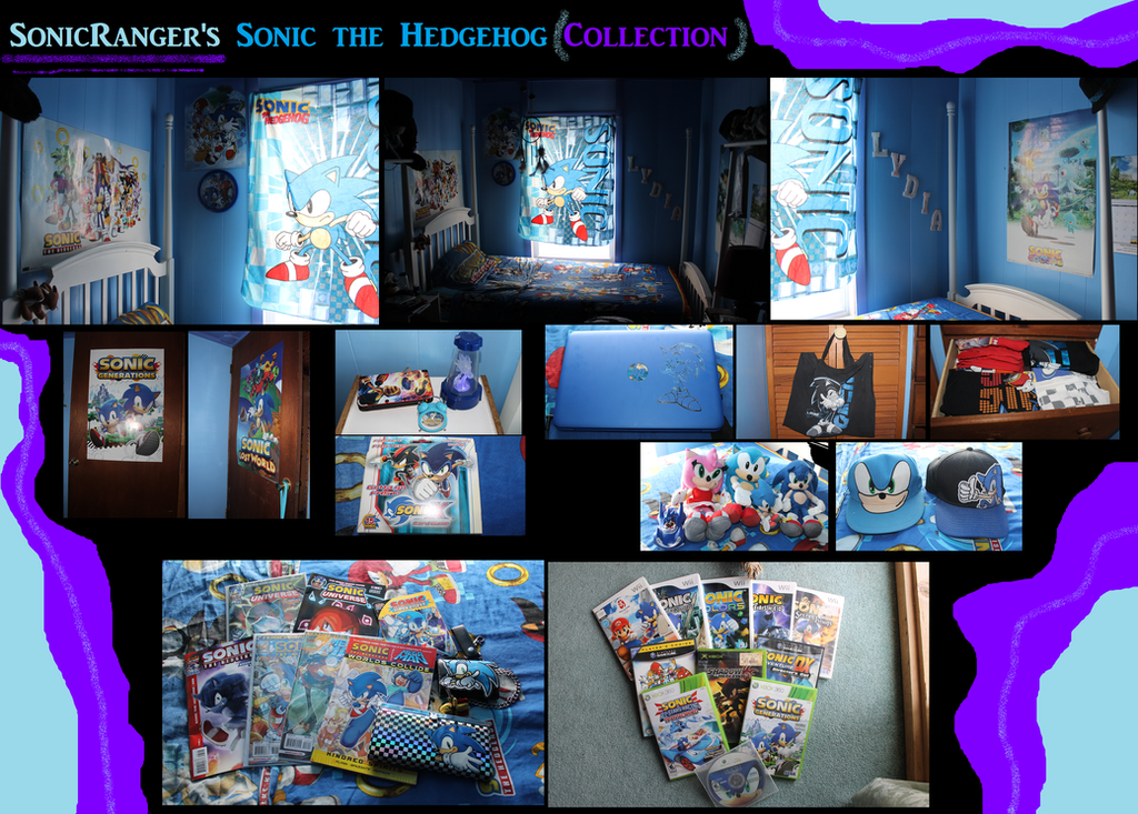 SonicRanger's Sonic Collection by SonicRanger-1