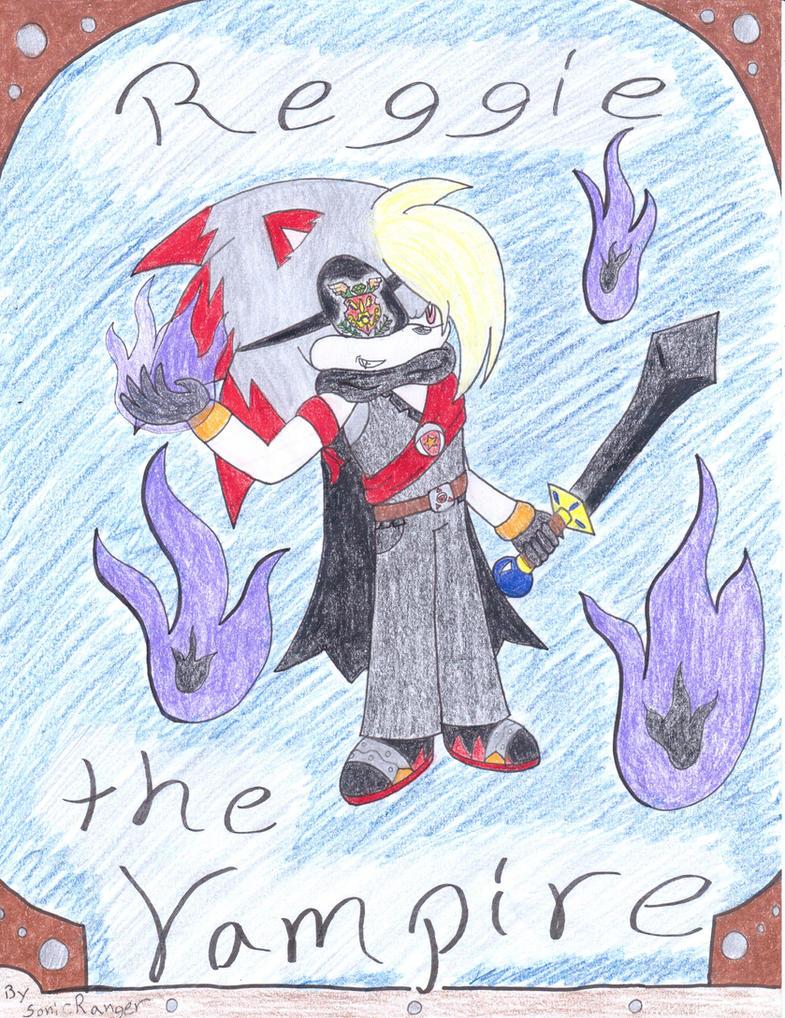 Reggie the Vampire -new design (Vampire of Cosium) by SonicRanger-1