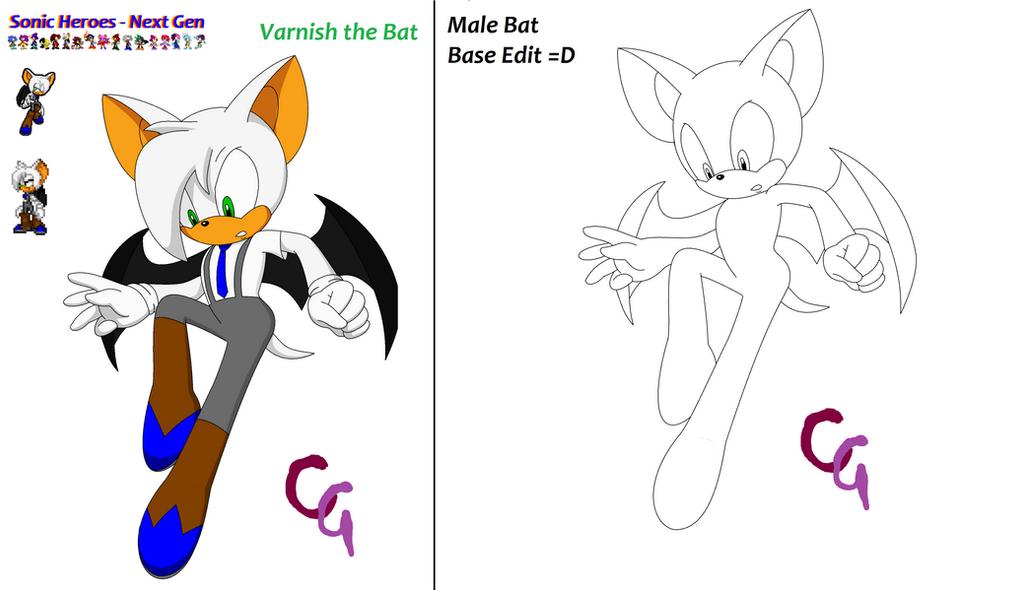 Sonic Heroes - Next Gen ~ Varnish by SonicRanger-1