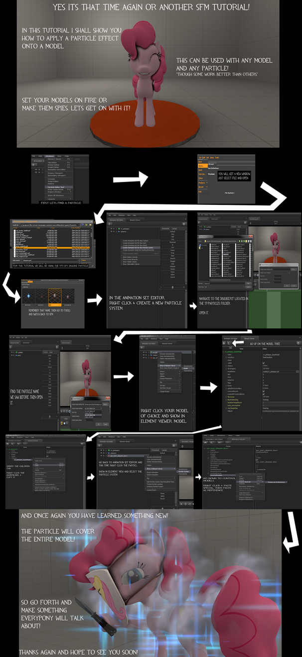 Sfm tutorial applying a particle onto models by sarcastic brony baditri Gallery