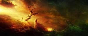 The Dragon Charmer by Owll