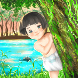 Grave of The Fireflies: Setsuko by HinnaFuerbolt