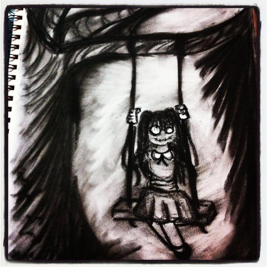 Creepy Doll by michelleleithead on DeviantArt