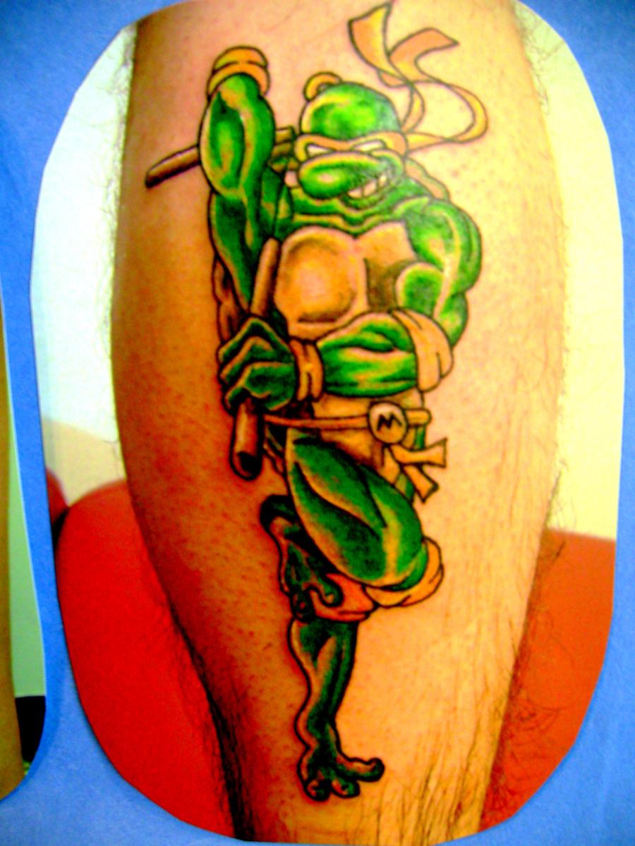 Ninja turtle tattoo by toast79 on deviantart for Ninja turtles tattoo