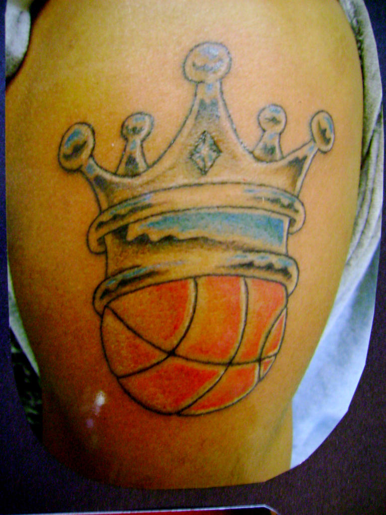 basketball tattoo by toast79 on deviantart. Black Bedroom Furniture Sets. Home Design Ideas