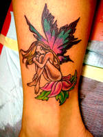 fairy tattoo by Toast79