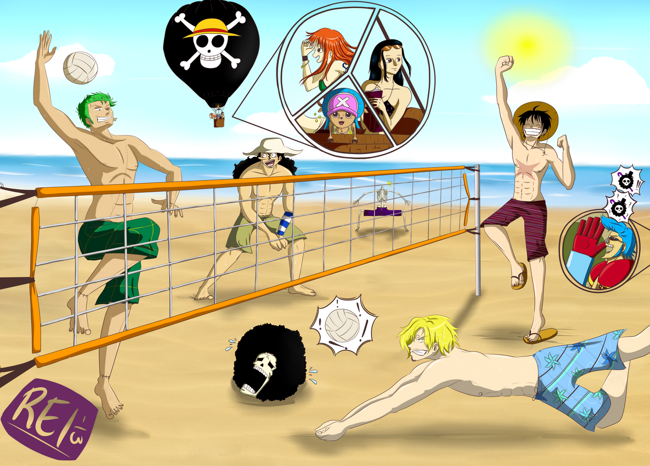 Beach Volley Time! by Dreamnation1256 on deviantART