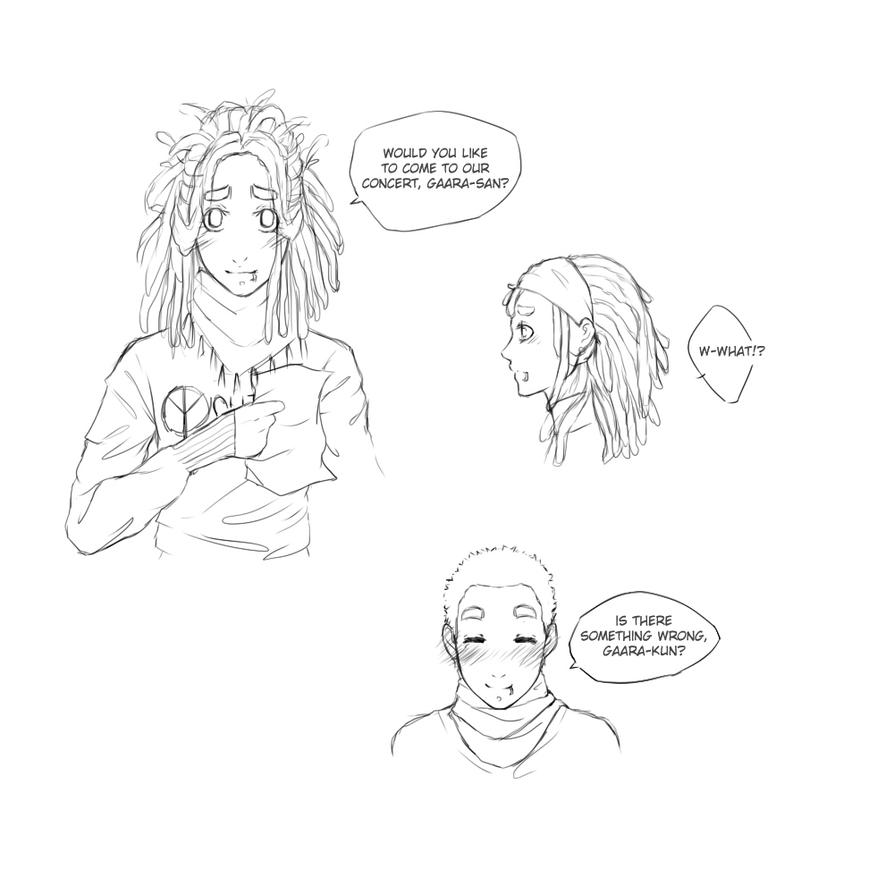 Lee Dreadlocks Sketch By Lordluciola