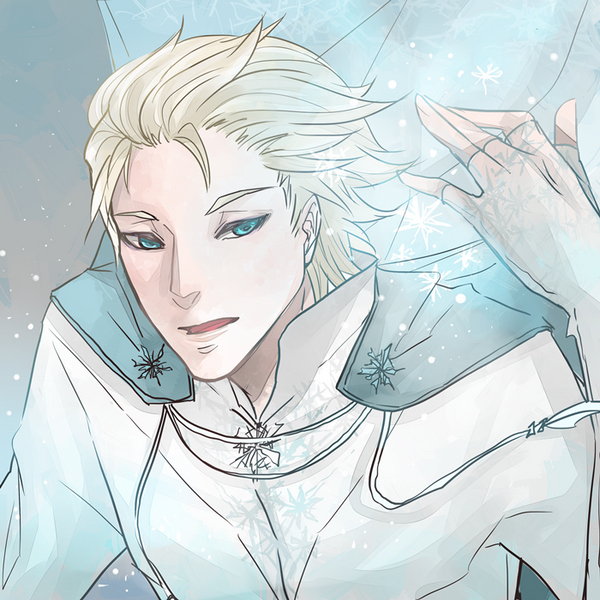 Elsa male version by Kenaxz